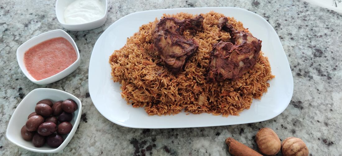 Chicken Kabsa Chilli Talks